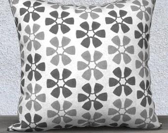 Gray Nursery Pillow, Gray Pillow Cover, Gray Accent Pillow, Gray Throw Pillow, Gray Lumbar Pillow, 14x20, Gray Pillowcase, Gender Neutral