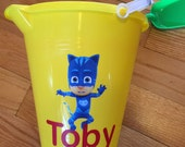 Personalized Beach Pail & Shovel/Easter Bucket