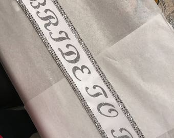 Miss Argentina Miss America sash, custom Sash,Wedding Sash Prom King, Prom Queen, Miss America, Beauty Queen,Miss USA Any Color any wording