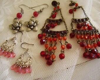 SALE! Jewelry Pierced Earring DESTASH LOT