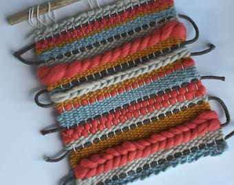 WIND UP | Striped Woven Wall Hanging