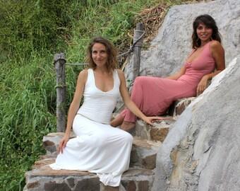 AFRODITA SEXY DRESS-white long dress-spring dress-ballroom dress-elven dress-sexy women-maxi dress-full length dress-festival dress