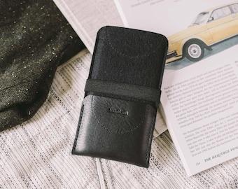 "Sleeve for Samsung Galaxy Note 4, leather, felt, ""Kangaroo"""