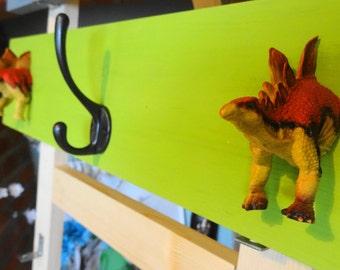 Dino coat hooks.