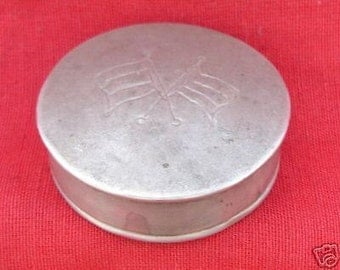Antique Collectible Old Silver Box Rajasthan India