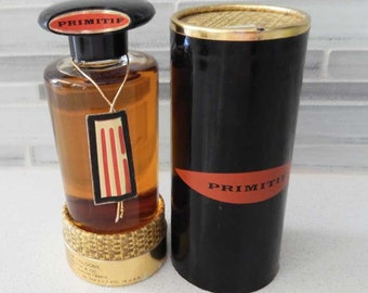 Vintage Max Factor Primitif Perfume Cologne in Box 2 oz. 1956 -