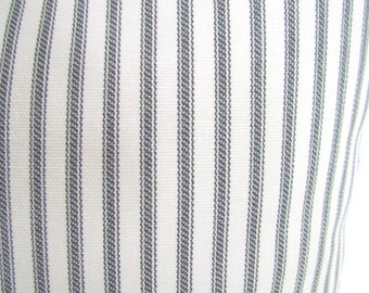 GRAY PILLOWS GREY Pillow Covers Charcoal Gray Ticking Stripe Pillow Covers Gray Ticking Stripe Pillows Striped Pillows 16 18x18 20 All Sizes