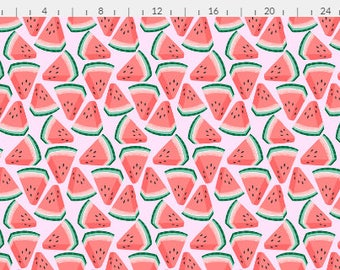 "Cloth Menstrual Pad Custom Minky ""Watermelon"" Moderate or Heavy flow ~ Pick the Length ~ Eco Friendly ~ Vegan"