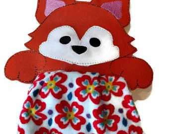 Fox kitchen towel holder, towel topper
