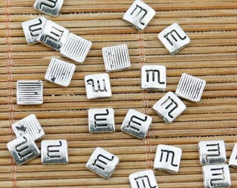 200pcs tibetan silver plated specail sign note design EF2401