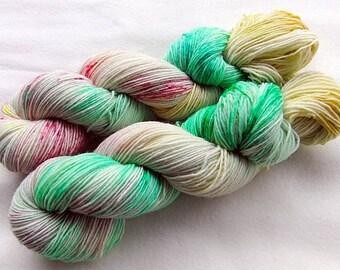 Handpainted Sock Yarn, 75 Wool  superwash, 25 Nylon 100g 3.5 oz.  Nr. 119