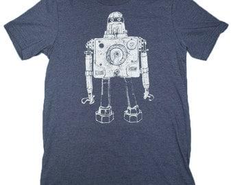 Mr Roboto Heather Navy