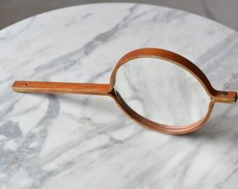 Rare Hans Agne Jakobsson Mirror teak Markaryd Sweden 1960's