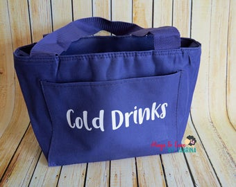 Personalized Insulated Cooler - Lunch Bag