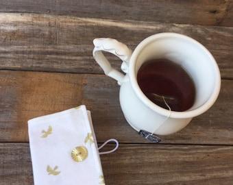 Gold Dove Tea Wallet