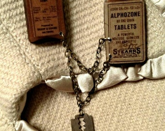 Apothecary Bottles Sweater Pins
