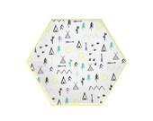 Let's Explore Paper Plate, Large, Meri Meri Party Decor, Party Supplies, Summer, Camp, Party Theme