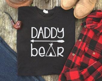 Papa Bear Shirt - Mama Bear Shirt - Daddy Bear Shirt - Photoshoot Outfits - Gifts for Dad - Fathers Day Gift - Family Shirts - Bear Shirts