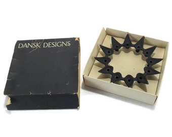 DANSK Tiny Taper Candle Holder in Box * STARCLUSTER No. 1706 * Jens Quistgaard