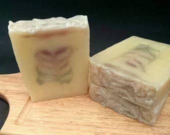 Lavender and geranium natural Artisan soap-palm oil Free