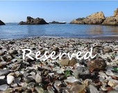 RESERVED SOLD For Rick, Glass Beach, CA
