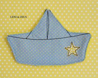 Crackle boat - crackling cloth - toy