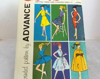 Vintage Barbie Advance Doll Pattern