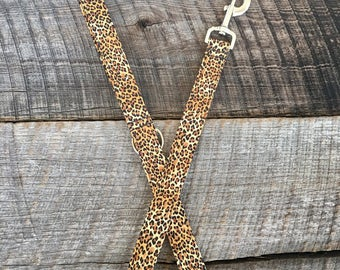 Leopard Dog Leash