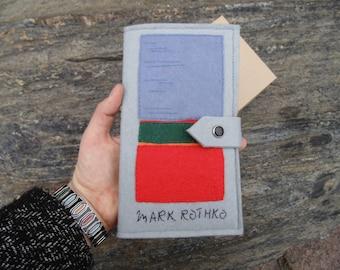Mark Rothko travel holder - Travel wallet - Travel accessories