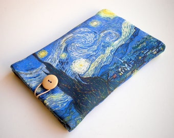 iPad Air 2 case, iPad 4, Galaxy Tab sleeve, Kindle Fire HD, eReader case, Fabric tablet sleeve, iPad Air, Kobo Glo, Nexus 9, Van Gogh Art