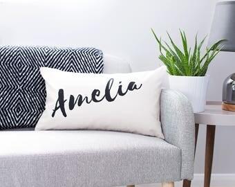 Personalised Name Fairtrade Cushion - Personalised Cushion - Home Decor - Interior Decor - Cushion Cover - Custom Cushion Cover - Furnishing