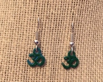BlueGreen OM Earrings