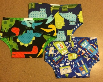 Ready to ship doll diapers