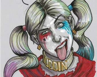 HARLEY QUINN (Suicide Squad) - by comic book artist Blair Shedd