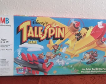 1991 Disney Tail Spin Board Game