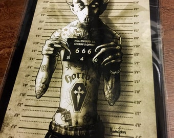 Nosferatu Mugshot Print