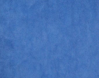 1yd Costume Suede in Bright Blue