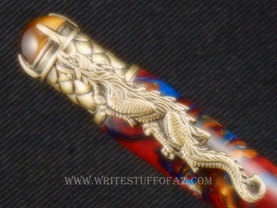 Dragon Themed Ballpoint Twist Pen