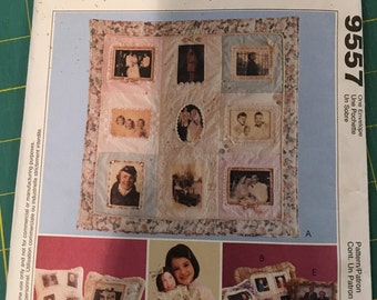 McCall's Memory Quilt pattern #9557 NEVER USED
