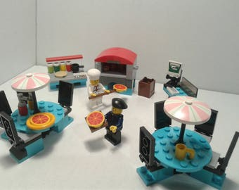Lego Custom Pizzeria @ Pizza @ Chef