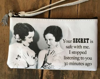 Secret is Safe Wristlet