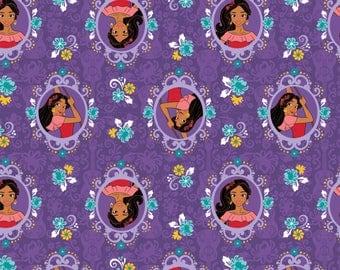 In Stock! Brand new Disney Elena of Avalor Fabric in Purple