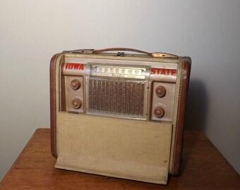 Bendix Portable Tube Radio ~ Working ~ 687 A ~ 1946-48 ~ Iowa State ~ Tube Technology ~ Suitcase Radio