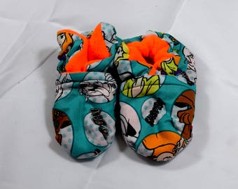 Scooby-Doo Baby Booties One Size Fits Most 0-18 months
