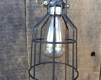 Attractive Cage Light Fixture | Etsy