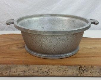 Cast Aluminum by Guardian, Vintage Saucepan by Guardian Service Cookware, Dutch Oven Aluminum Baking Cooking Pan, Vintage Hammered Aluminum