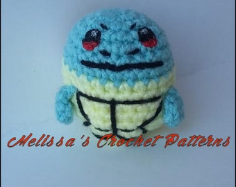 Crochet Pattern - Squirtle Ball - Pokemon