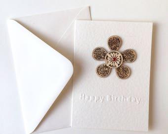 Handmade Birthday Card, A6