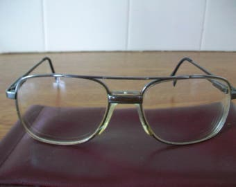 Men's Optical Glasses  in Soft Case, Vintage, Retro, Eyewear: save a fortune just change the lenses