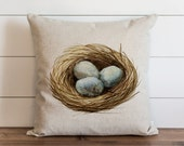 Nest 20 x 20 Pillow Cover // Everyday // Throw Pillow // Gift // Accent // Cushion Cover